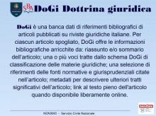 Archivio DoGi Dottrina Giuridica