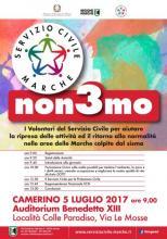 """Servizio civile nazionale Marche """"non3mo"""""""