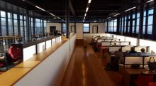 Sala di lettura Biblioteca presso il Nuovo Campus