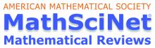 Banca dati bibliografica MathSciNet